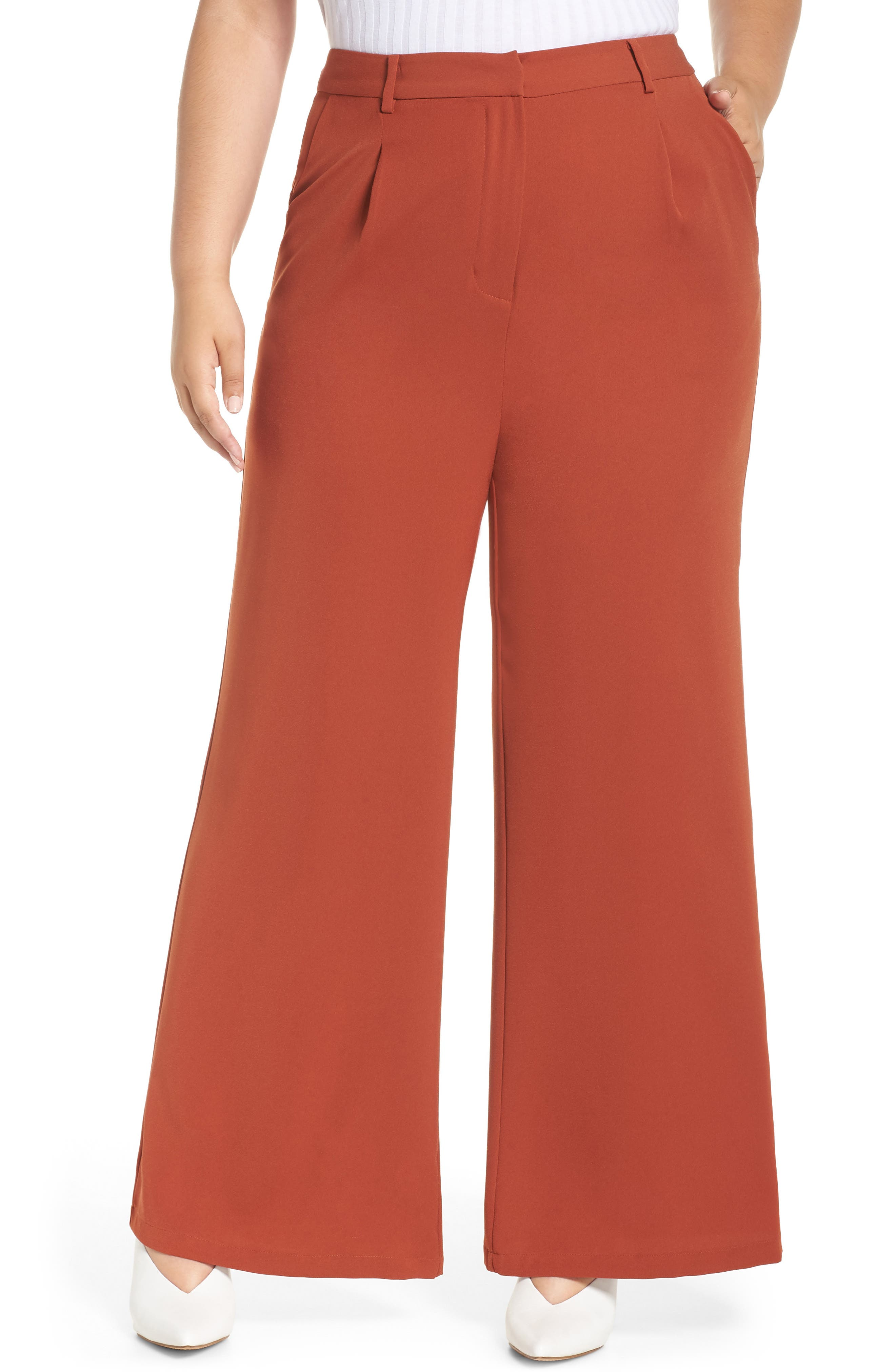 ,                             High Waist Flare Pants,                             Alternate thumbnail 15, color,                             210