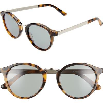Madewell Indio Round Sunglasses - Mystic Yellow