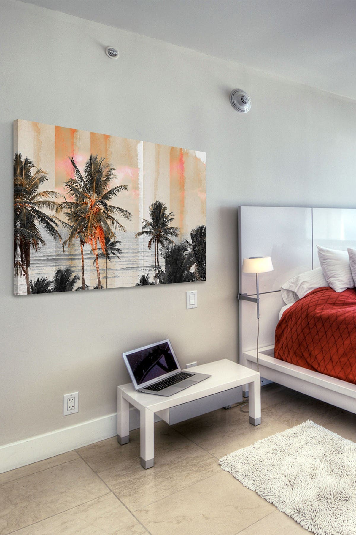 """Image of Marmont Hill Inc. Bahia Painting Print on Wrapped Canvas - 24"""" x 16"""""""