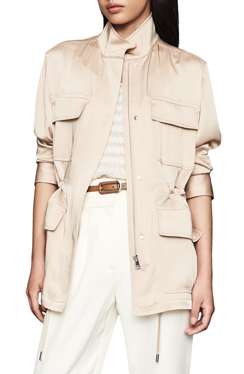Reiss Blakely Lightweight Utility Jacket