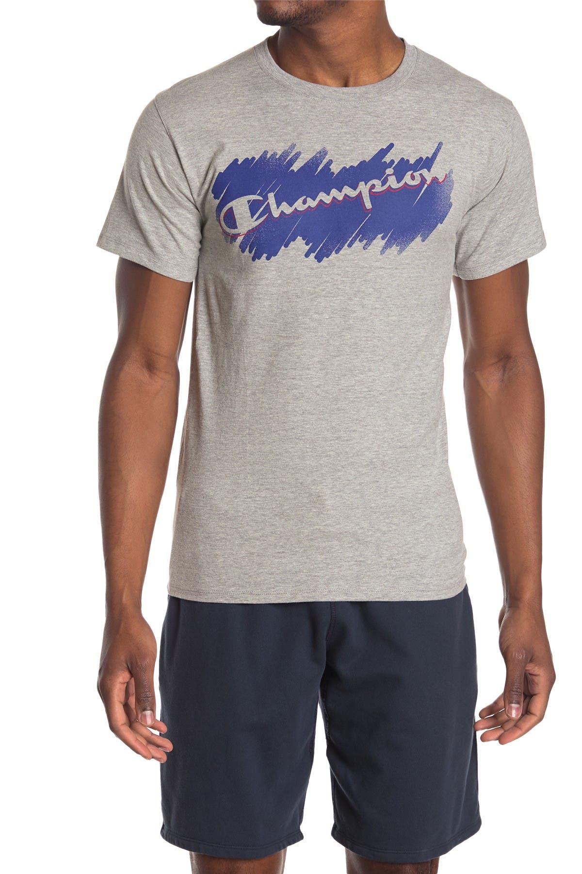 Image of Champion Logo Print T-Shirt