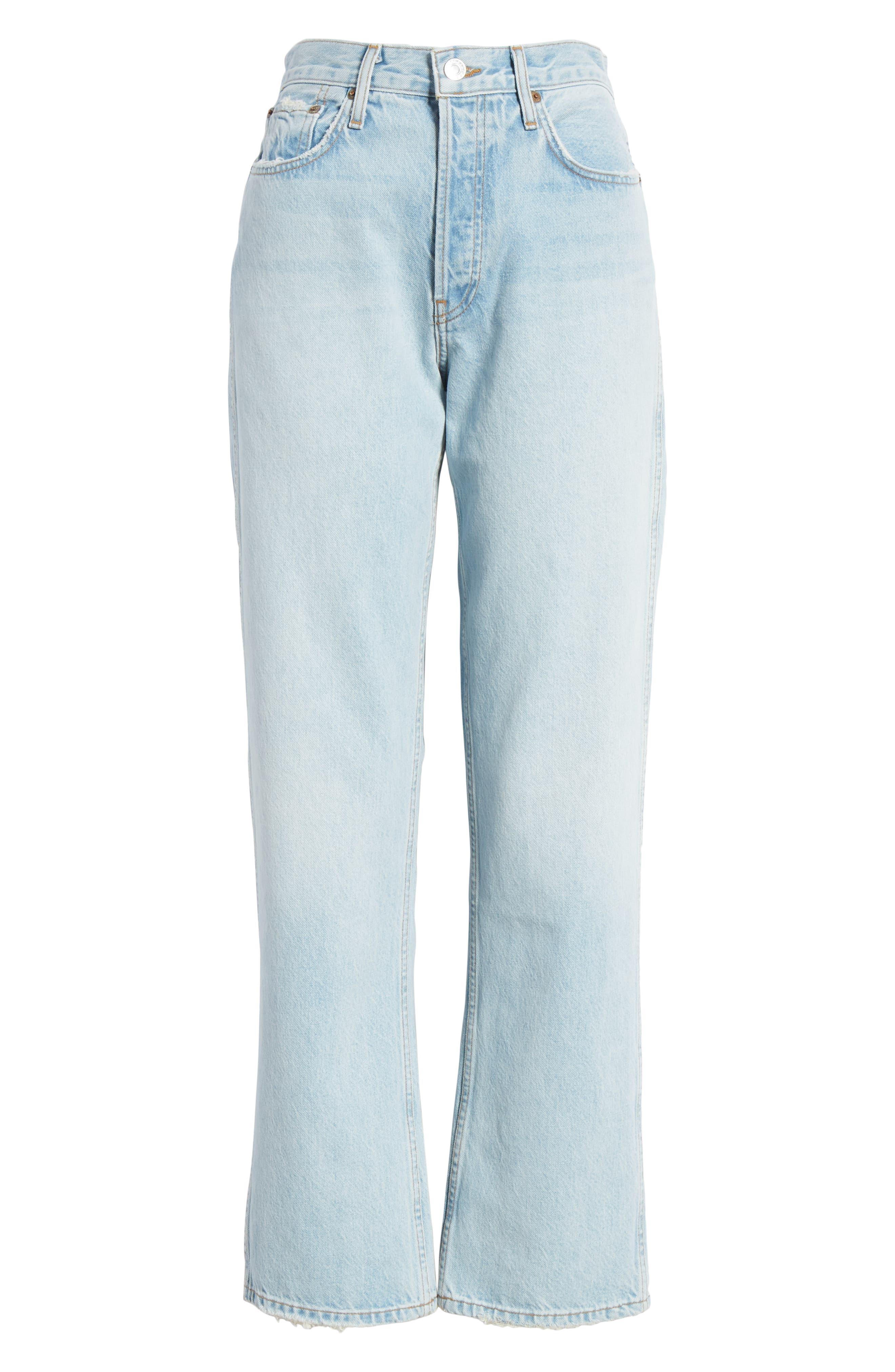 ,                             Low Slung Jeans,                             Alternate thumbnail 7, color,                             LIGHT 04