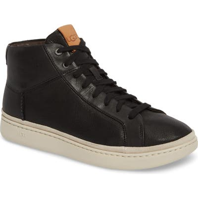 Ugg Cali High Top Sneaker- Black