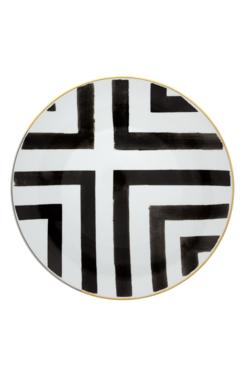 CHRISTIAN LACROIX Sol y Sombra Dinner Plate, Main, color, WHITE
