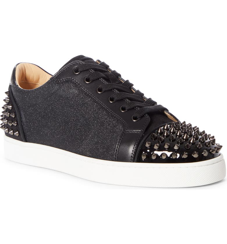CHRISTIAN LOUBOUTIN Seavaste 2 Low Top Sneaker, Main, color, BLACK/ BK GUN
