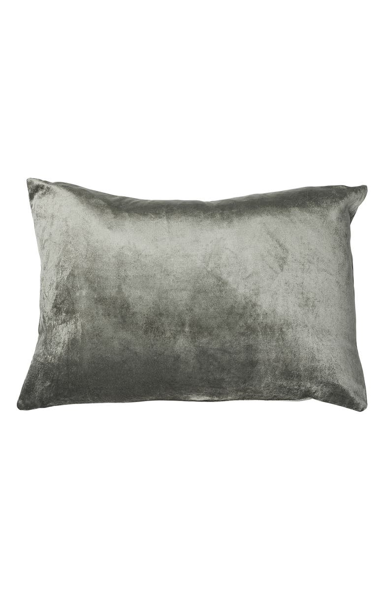 EADIE LIFESTYLE Precious Accent Pillow, Main, color, PEWTER