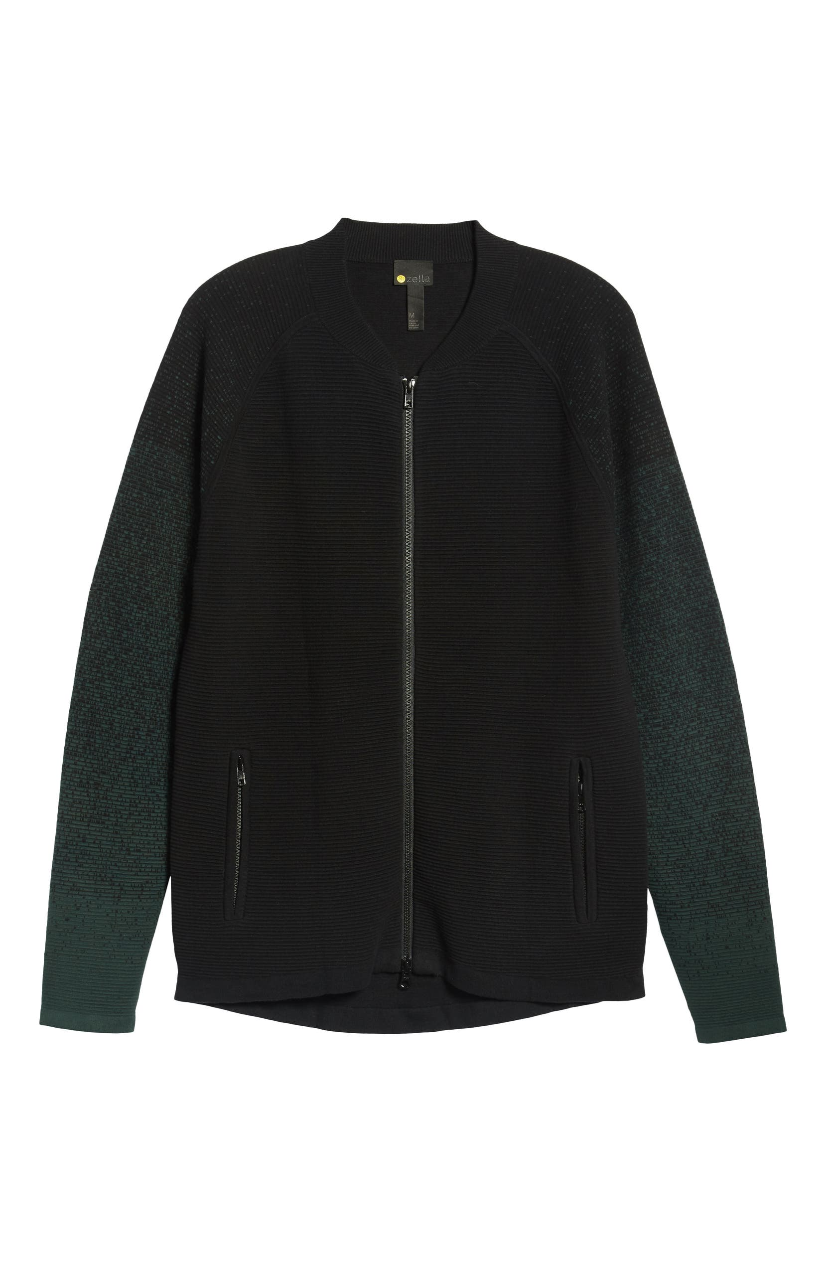378a7d2e9 Zella Sweater Fleece Bomber Jacket   Nordstrom