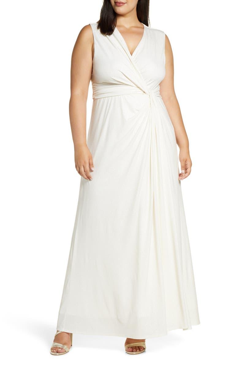 KIYONNA Gilded by Moonlight Sleeveless Gown, Main, color, 907
