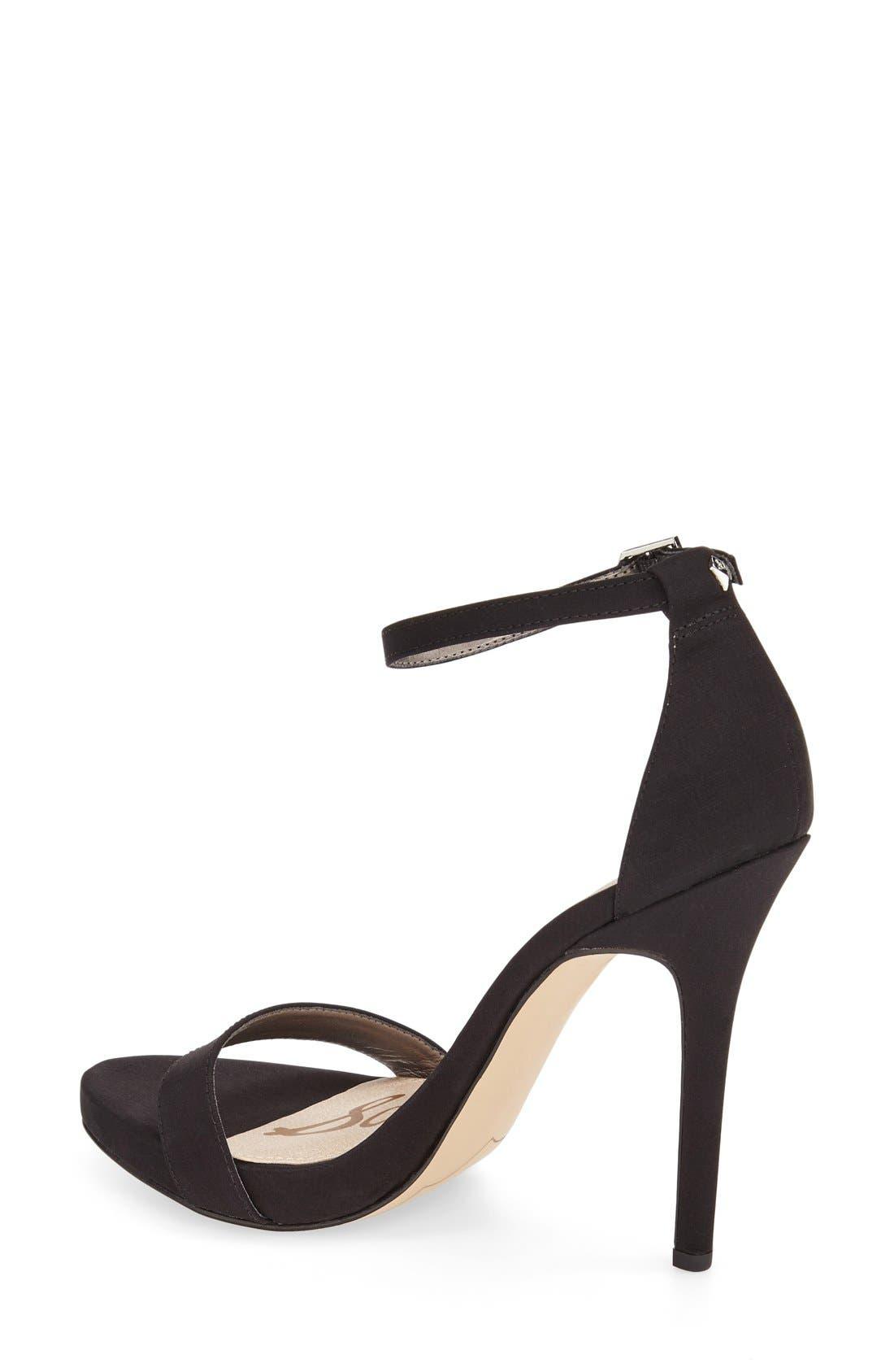 ,                             'Eleanor' Ankle Strap Sandal,                             Alternate thumbnail 34, color,                             006