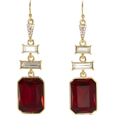 Vince Camuto Baguette Drop Earrings