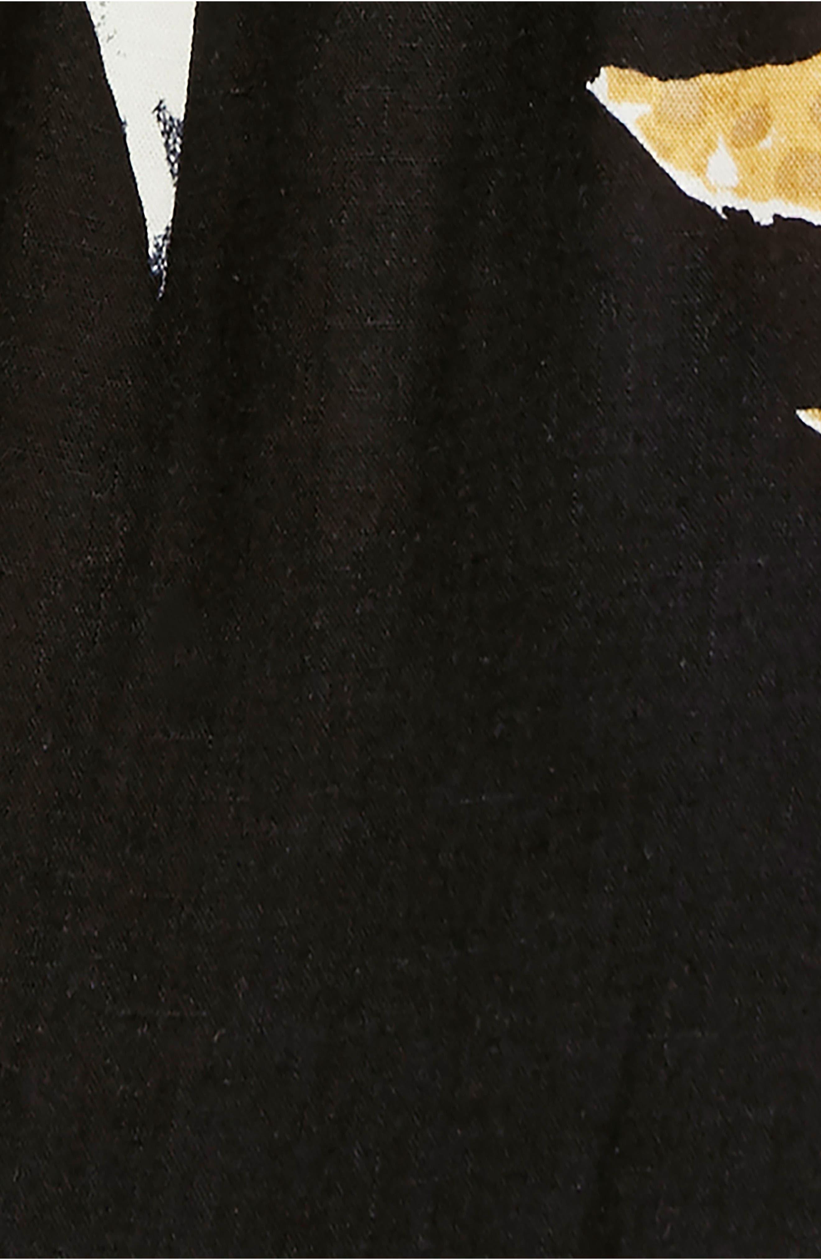 ,                             Anita High/Low Dress,                             Alternate thumbnail 5, color,                             BLACK