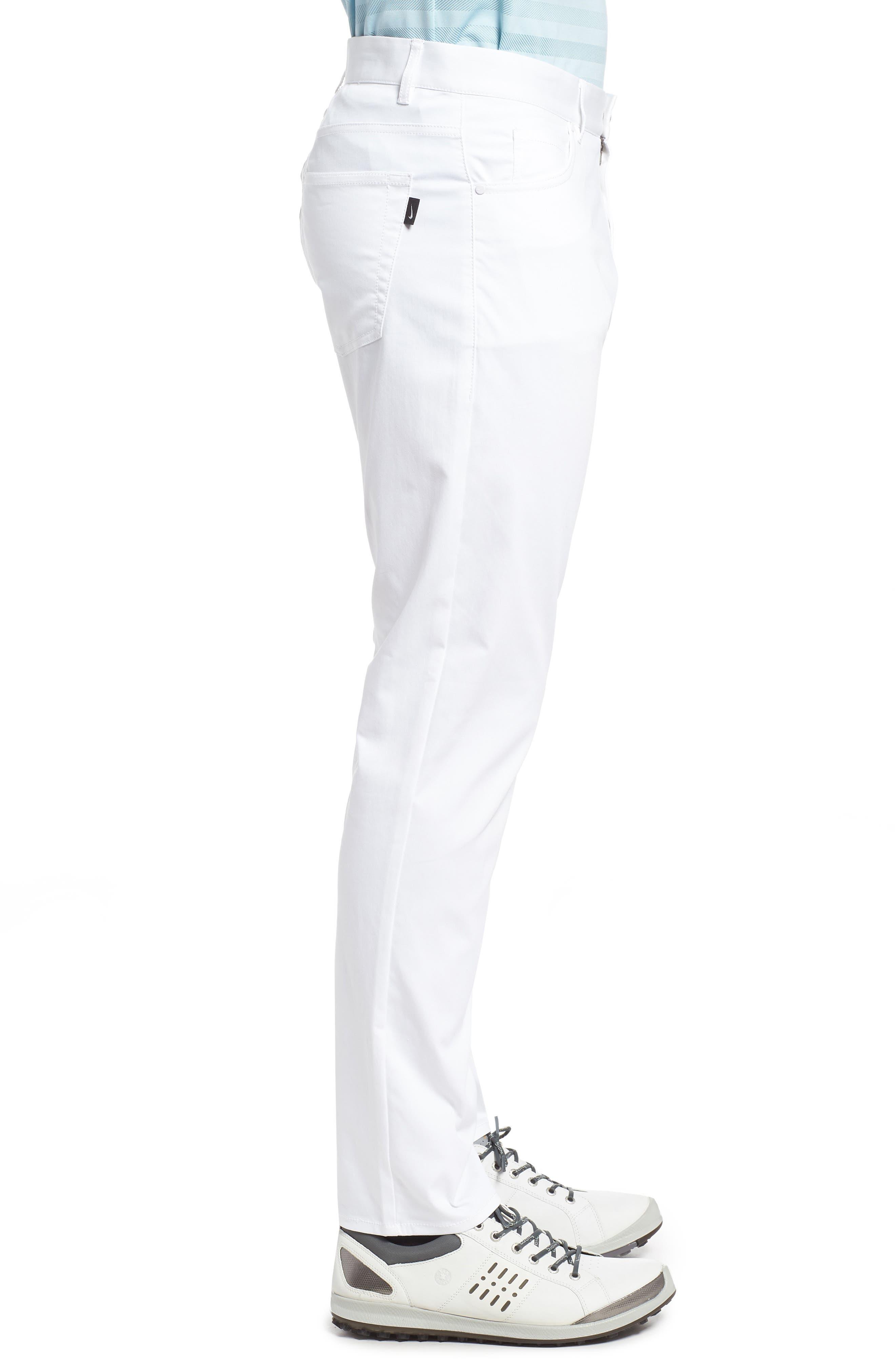 ,                             Flex Slim Fit Dri-FIT Golf Pants,                             Alternate thumbnail 18, color,                             100