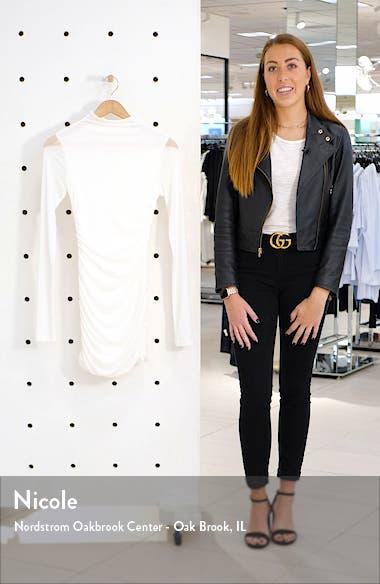 Stella Long Sleeve Mesh Body-Con Dress, sales video thumbnail