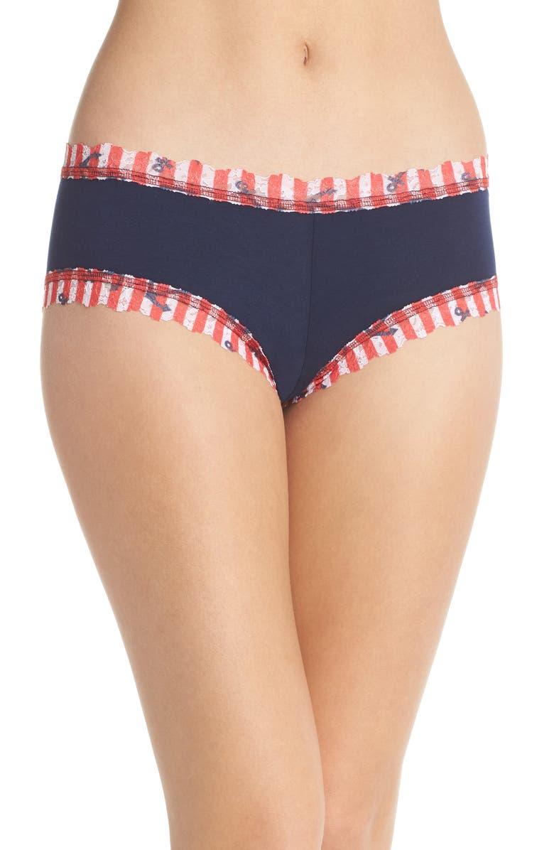 HANKY PANKY Paisley Hipster Panties, Main, color, 629