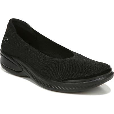 Bzees Nutmeg Knit Flat, Black