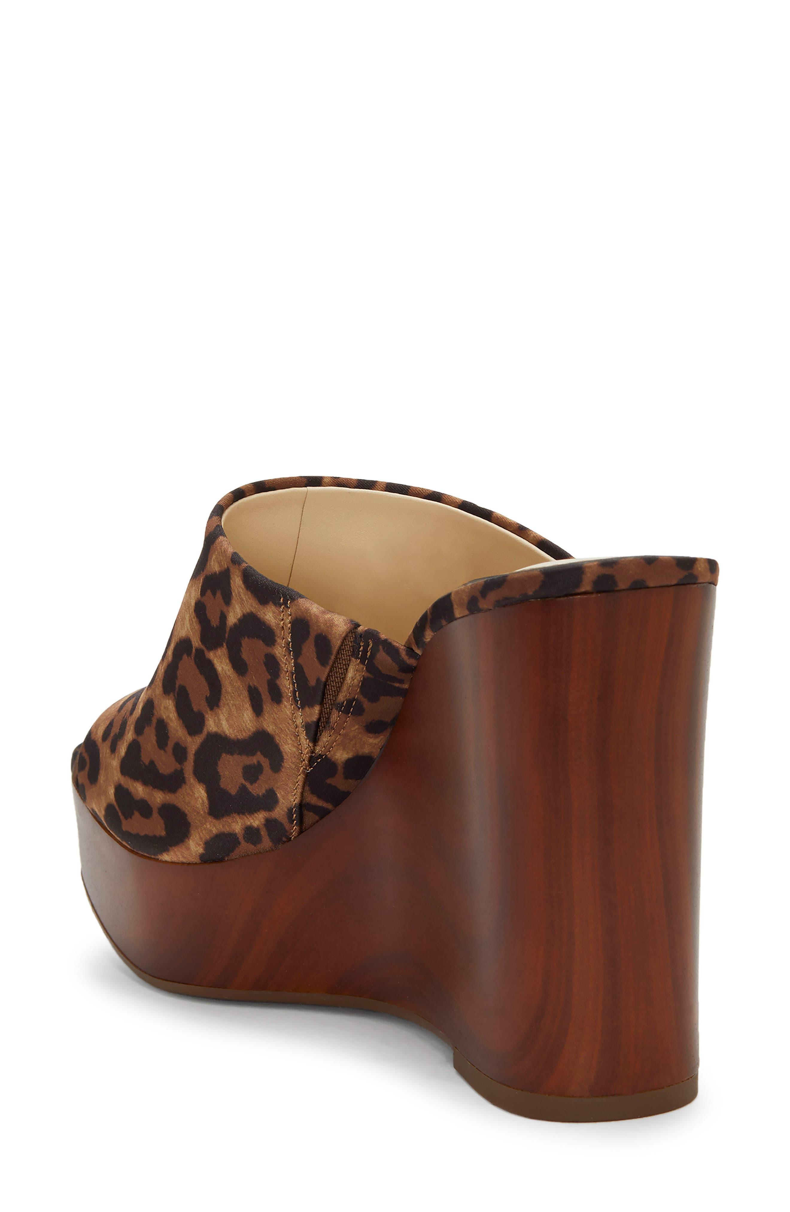 ,                             Shantelle Wedge Slide Sandal,                             Alternate thumbnail 2, color,                             NATURAL FABRIC