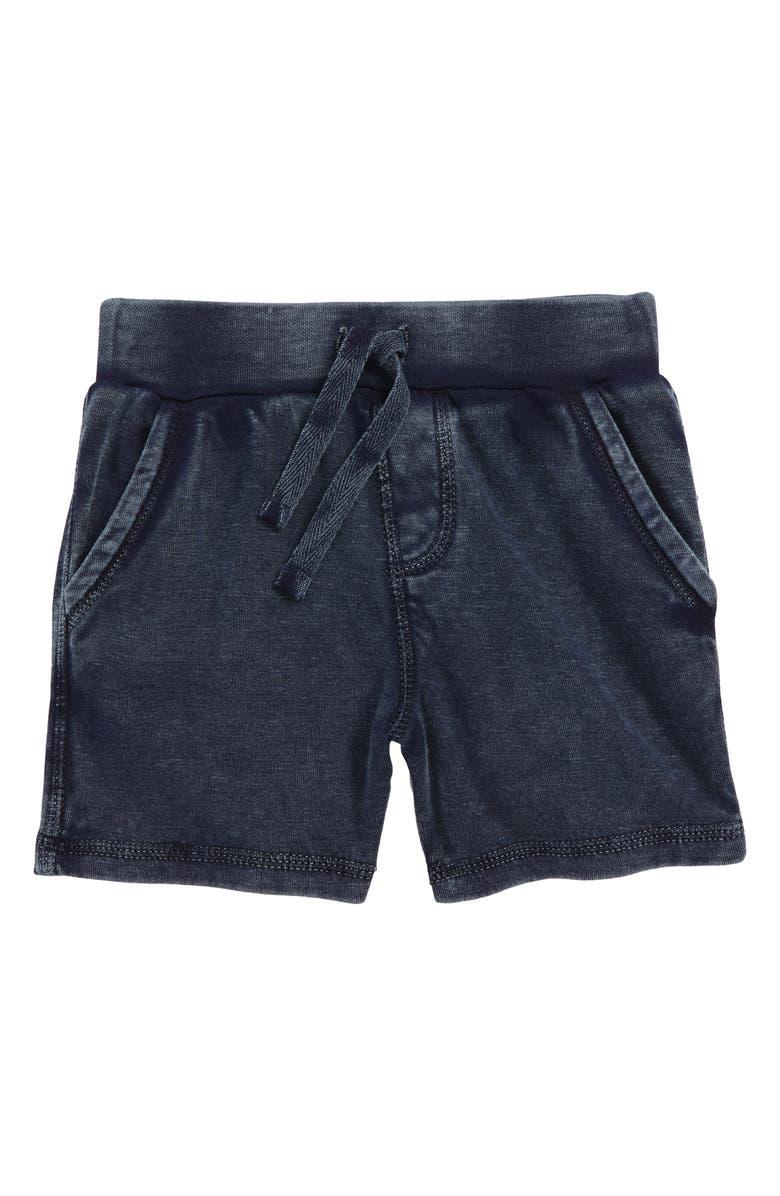 TUCKER + TATE Knit Shorts, Main, color, NAVY BLAZER