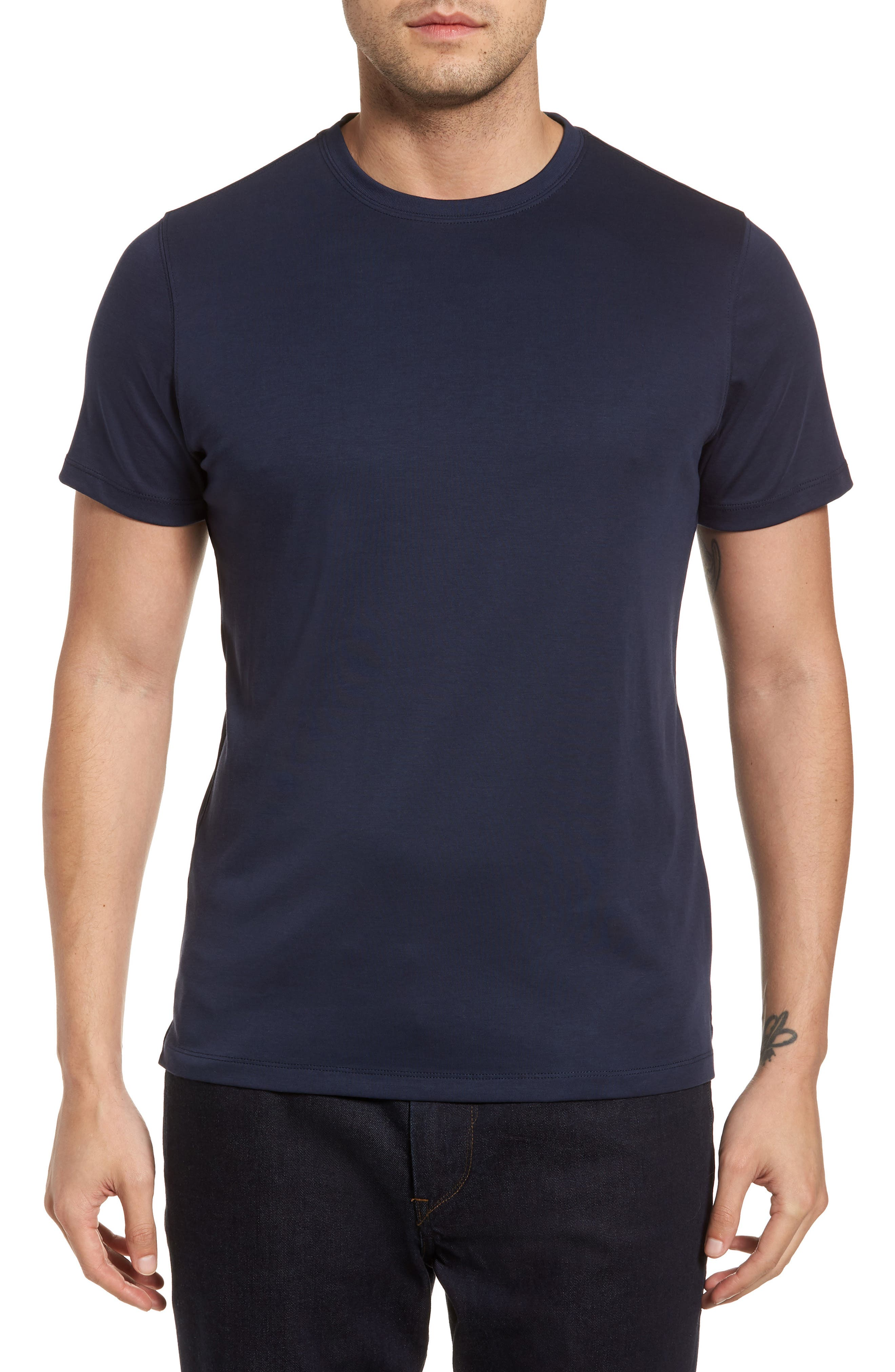 ,                             Georgia Crewneck T-Shirt,                             Main thumbnail 286, color,                             445