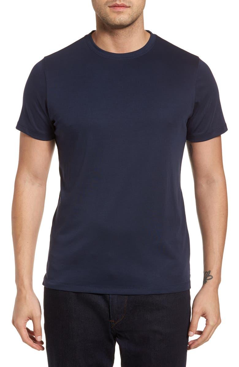 ROBERT BARAKETT Georgia Crewneck T-Shirt, Main, color, BLUE NIGHT