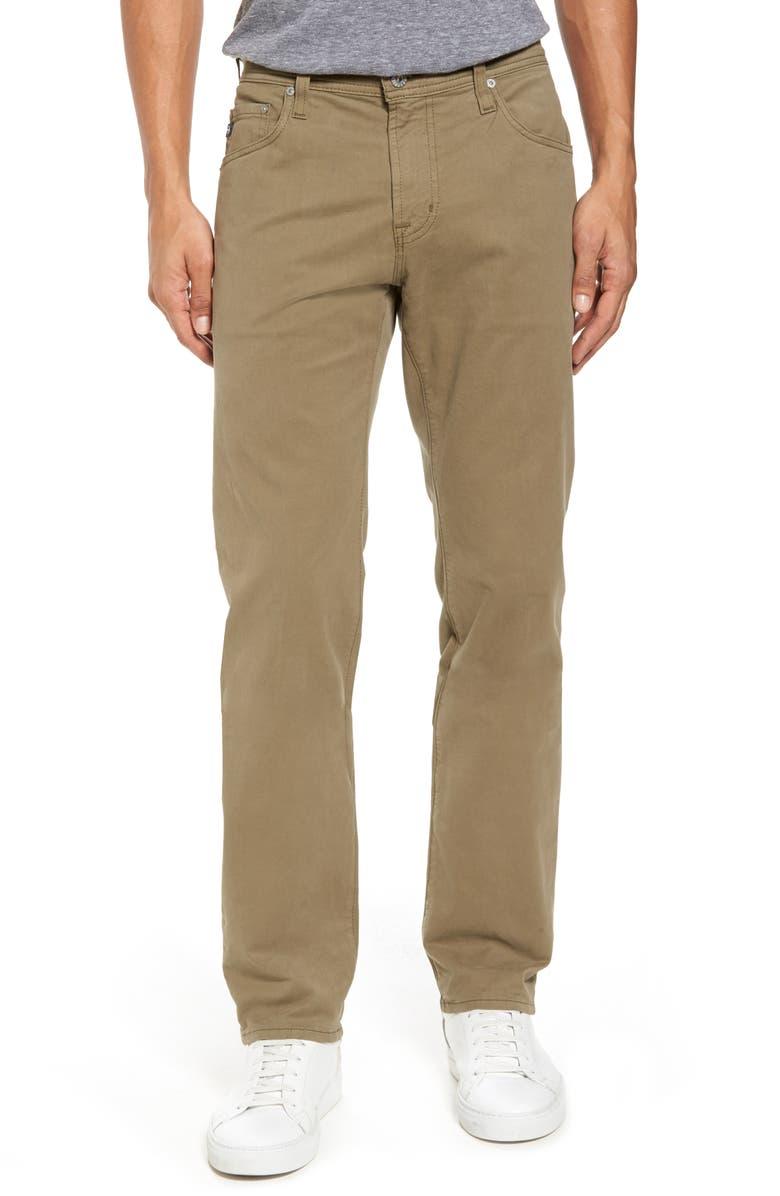 AG 'Matchbox BES' Slim Fit Pants, Main, color, 300