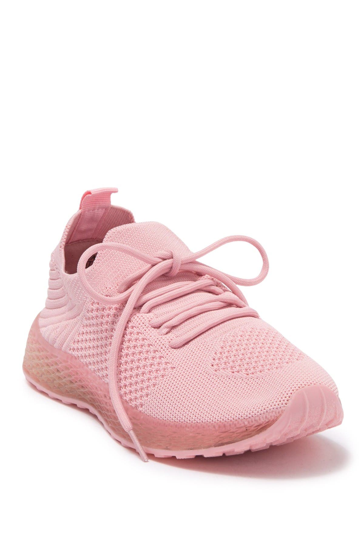 Image of Wanted Knit Lace-Up Sneaker