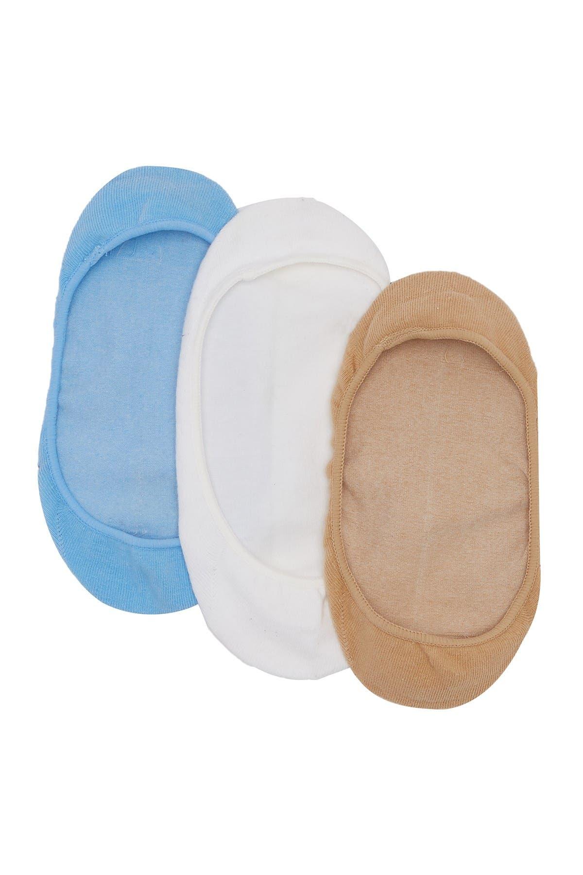 Image of HUE Low Cut Sock Liner - Pack of 3