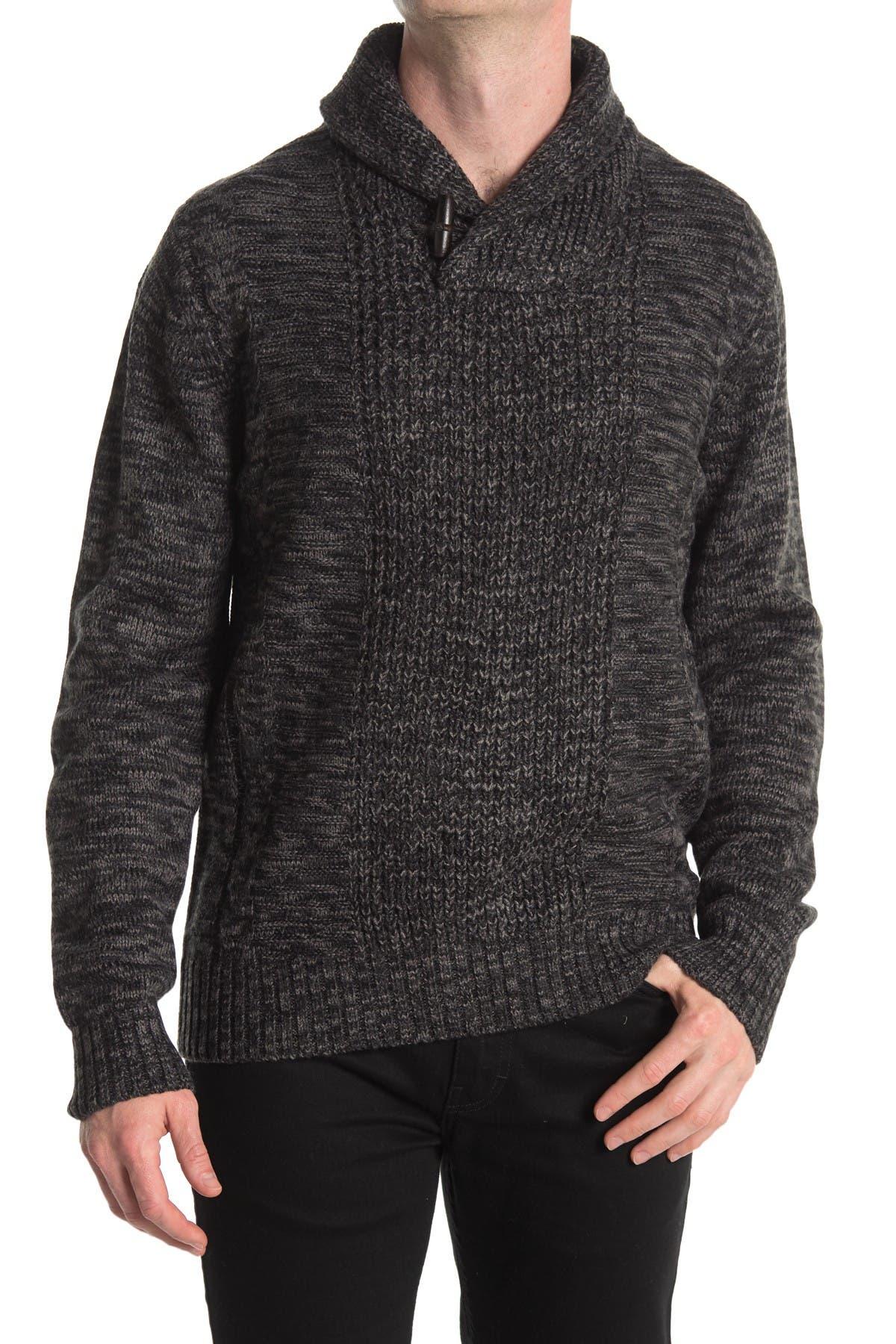 Image of weatherproof Marled Shawl Collar Pullover