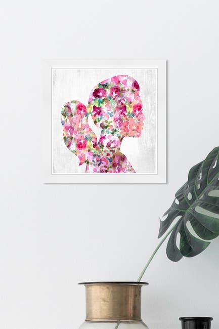 Image of Wynwood Studio Portrait of a Lady Pink People & Portraits Framed Wall Art