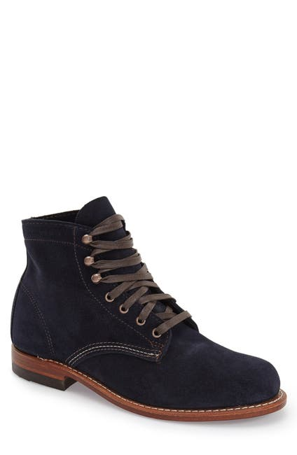 Image of Wolverine 1000 Mile Plain Toe Boot