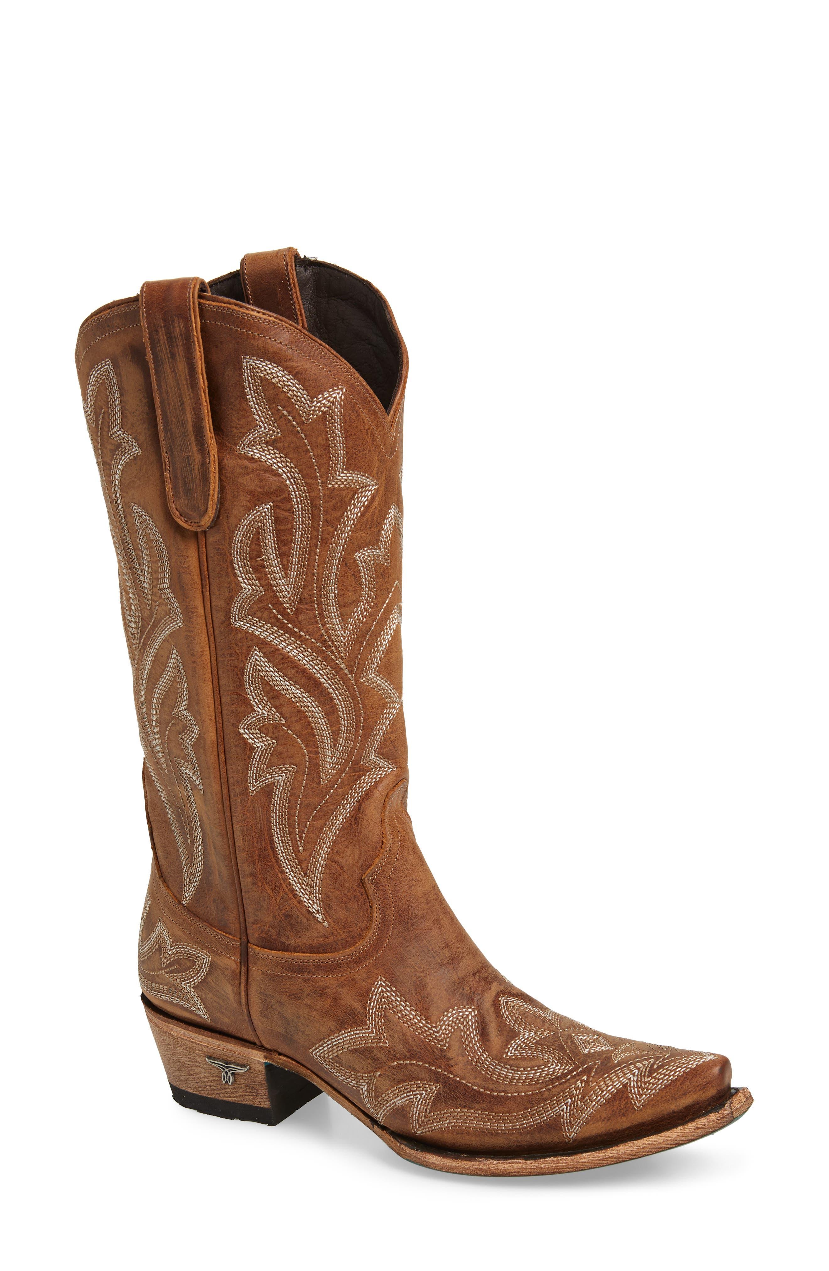Saratoga Western Boot