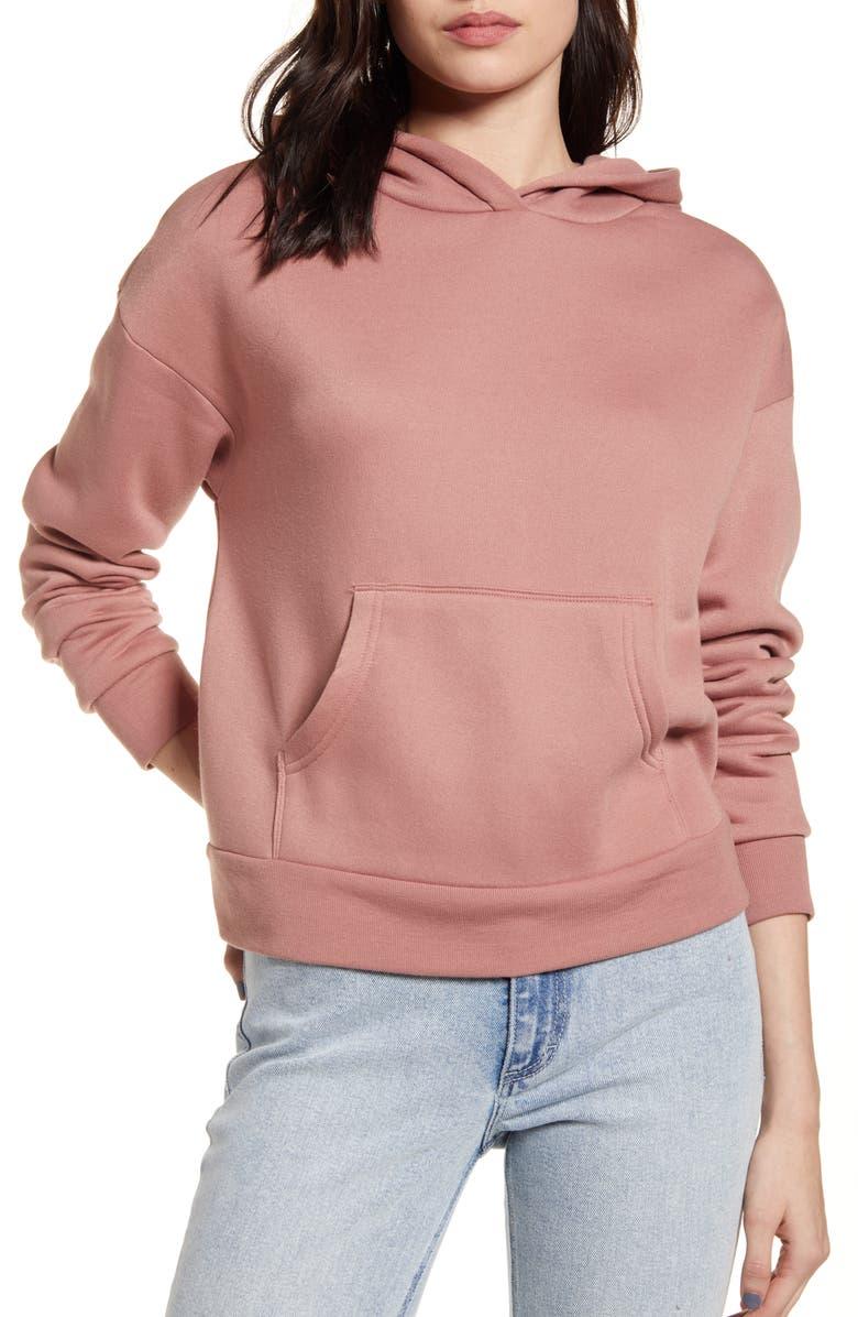 BP. Hoodie Sweatshirt, Main, color, TAN BURLWOOD
