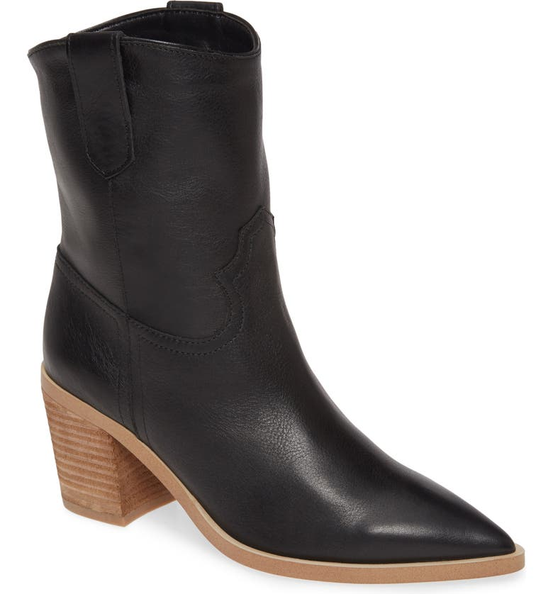 TONY BIANCO Scout Bootie, Main, color, BLACK LUXE