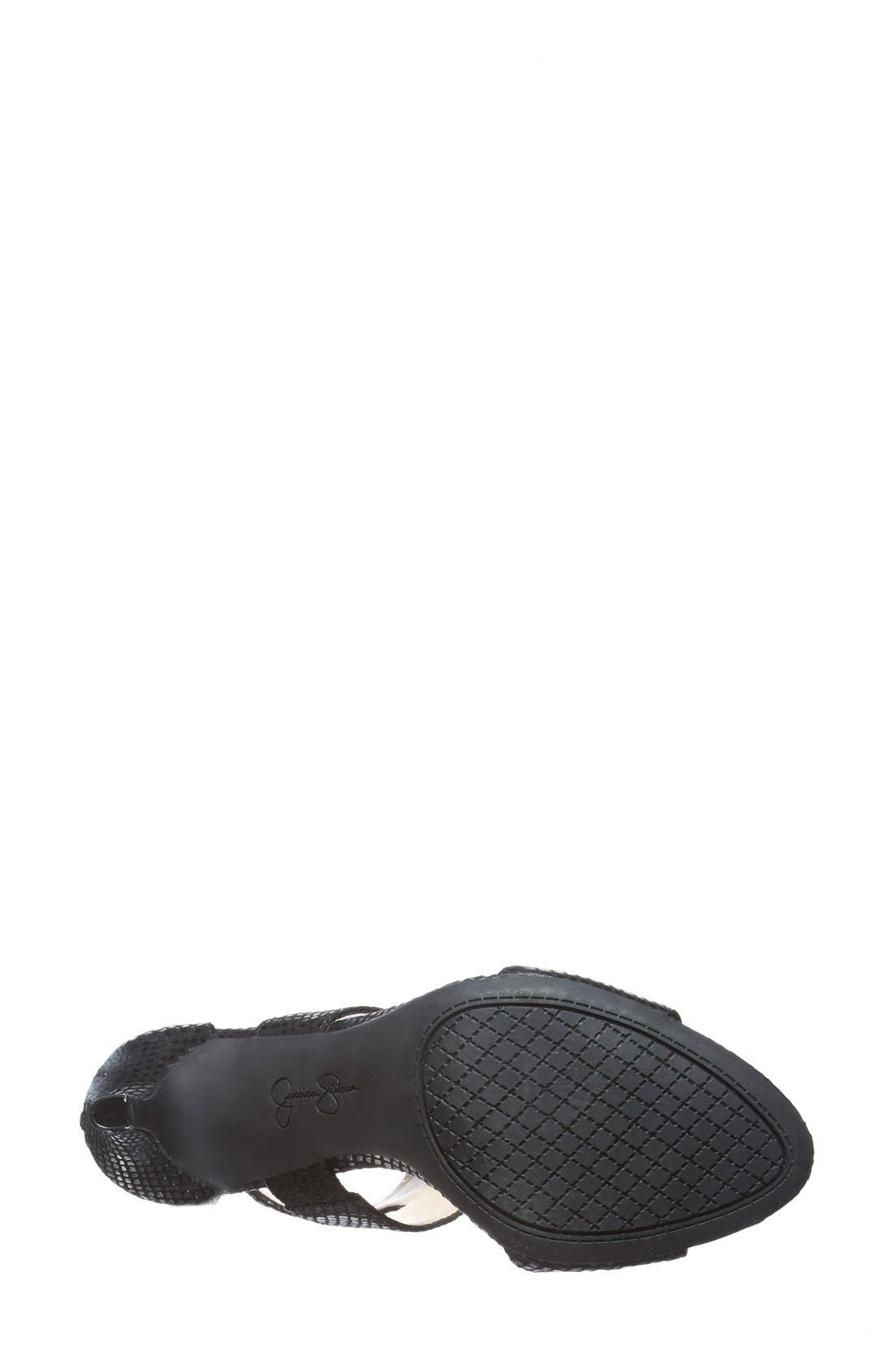 ,                             'Mekos'  Cutout Sandal,                             Alternate thumbnail 9, color,                             002