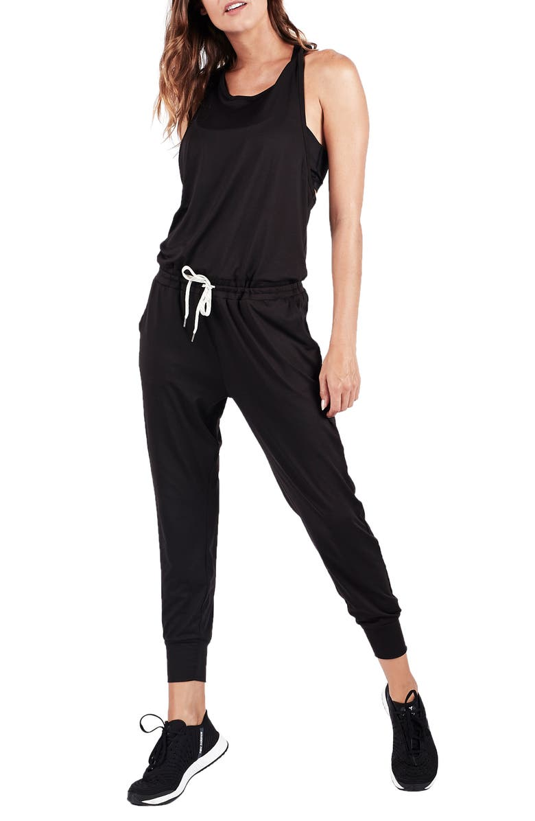 VUORI Luna Crop Jumpsuit, Main, color, 001