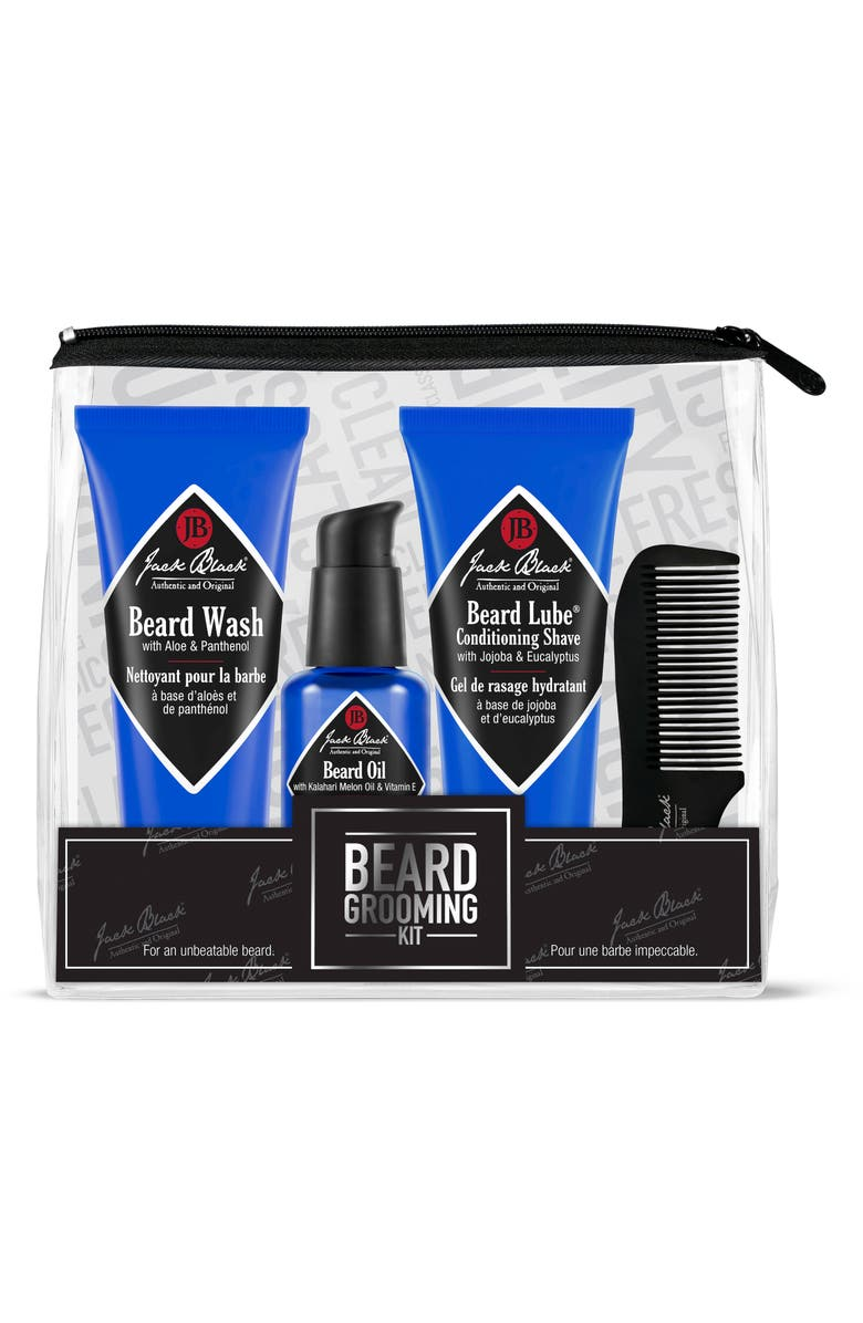 JACK BLACK Beard Grooming Kit, Main, color, 000