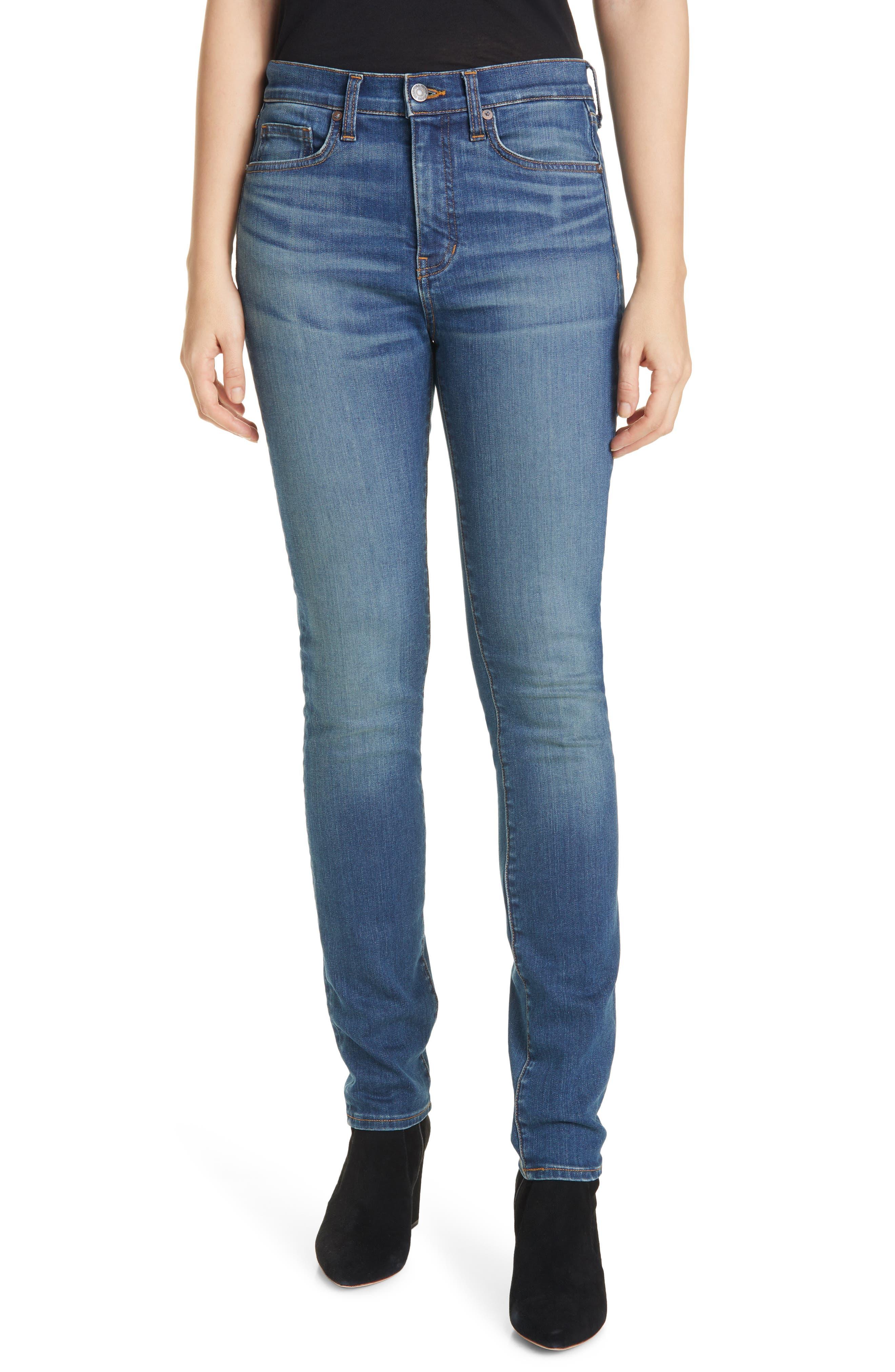 Women's Veronica Beard Debbie High Waist Skinny Jeans