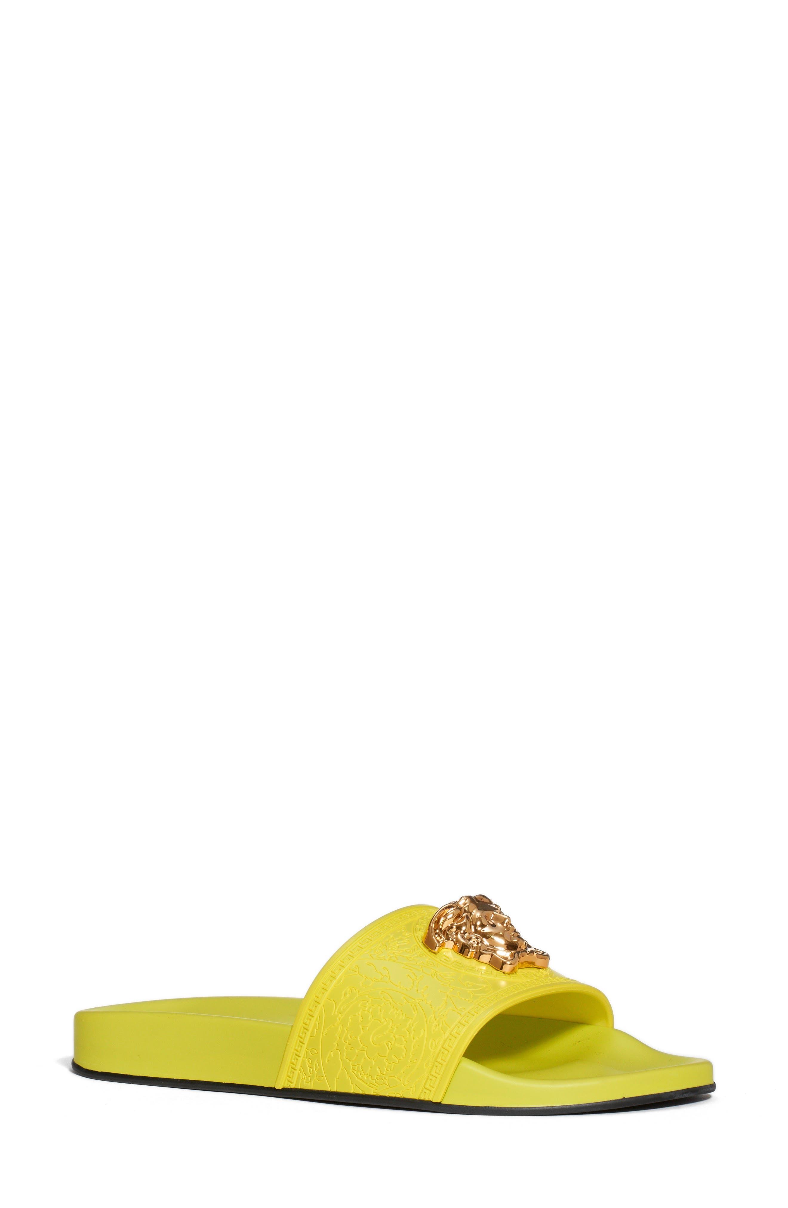Yellow Designer Sandals for Women