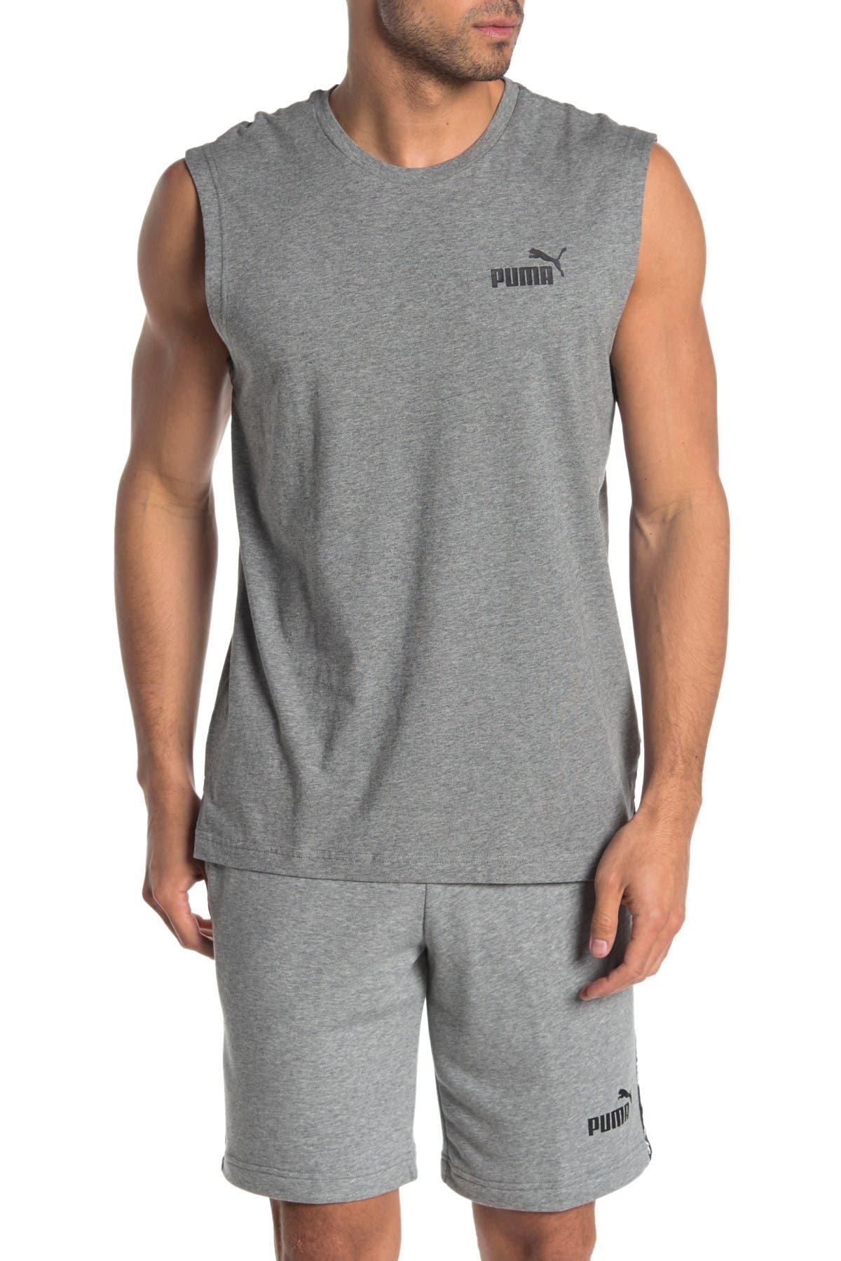 Image of PUMA Logo Muscle Tank
