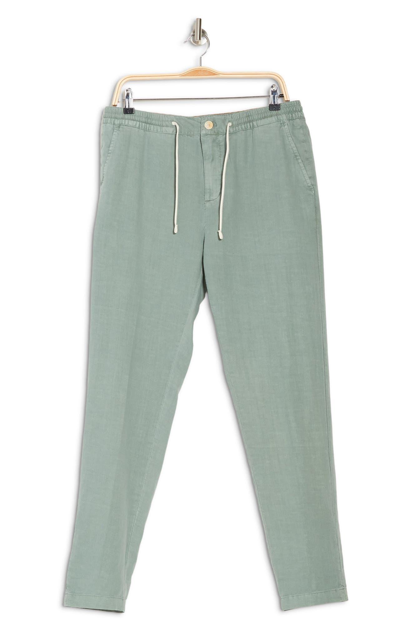 Scotch & Soda Warren Stripe Pants In 0238-emerald