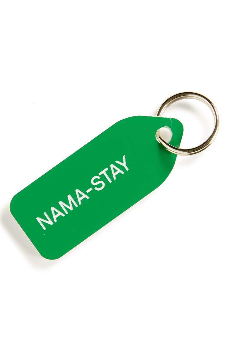 GROWLEES Nama-Stay Collar Charm, Main, color, GREEN