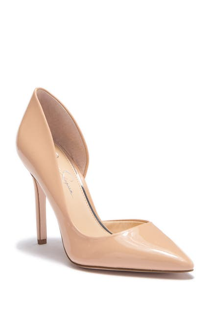 Image of Jessica Simpson Paryn d'Orsay Pointed Toe Pump - Multiple Widths Available