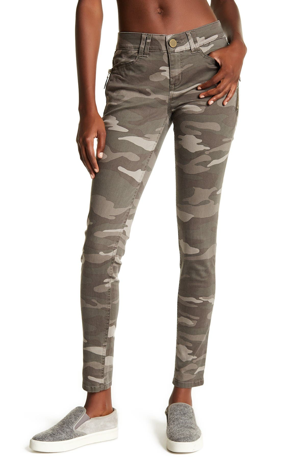 Image of Democracy Ab Technology Camo Skinny Jeans