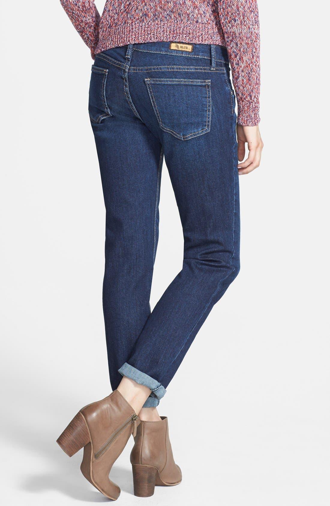 ,                             'Joey' Boyfriend Jeans,                             Alternate thumbnail 6, color,                             401
