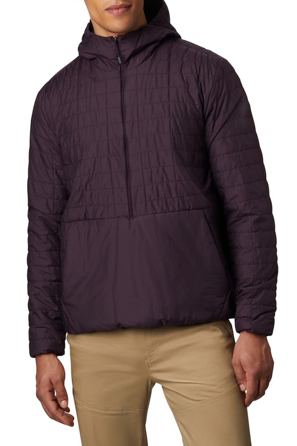 Image of MOUNTAIN HARDWEAR Skylab Quilted Pullover Hoodie