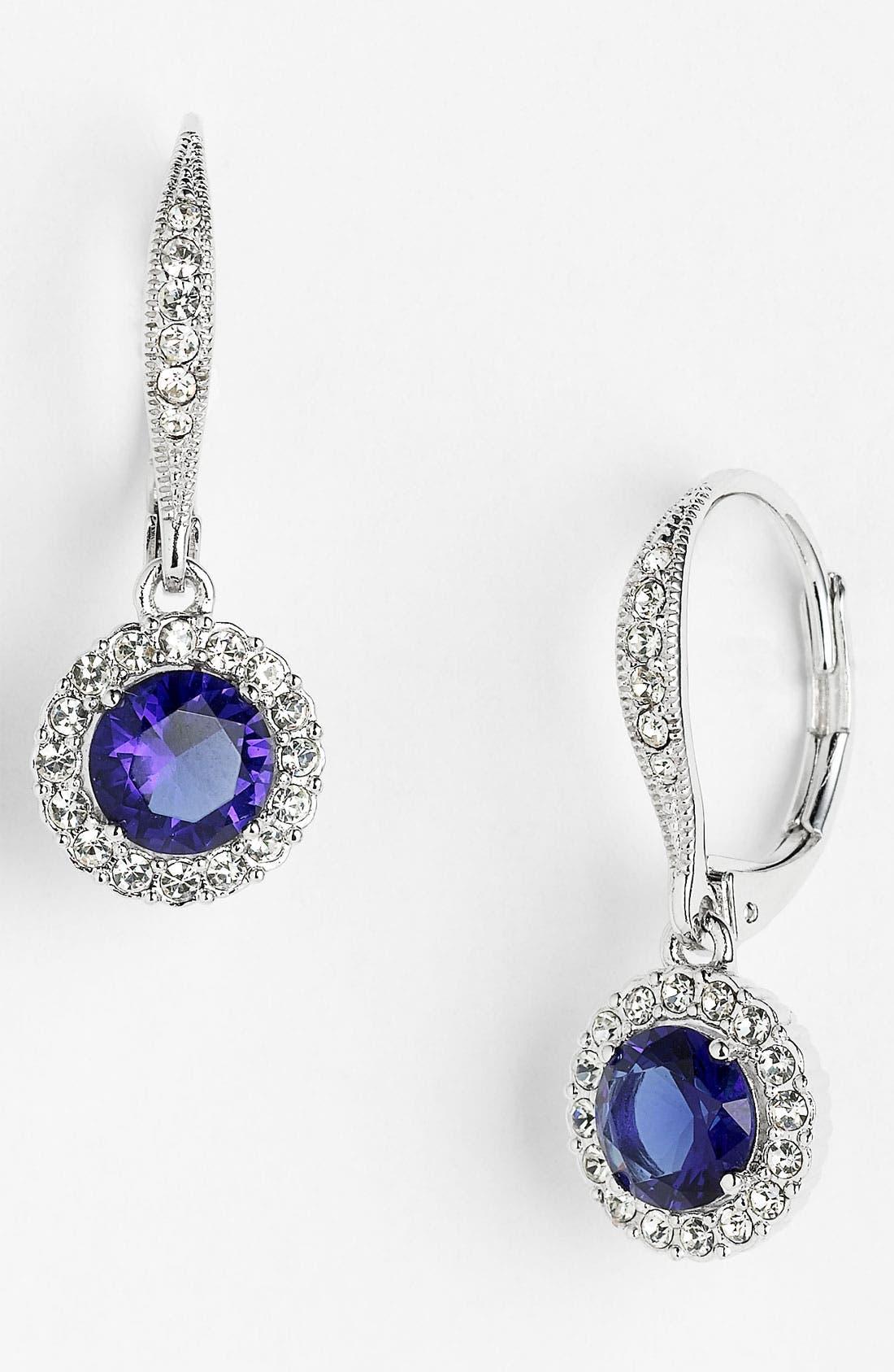 ,                             Cubic Zirconia Drop Earrings,                             Main thumbnail 16, color,                             400