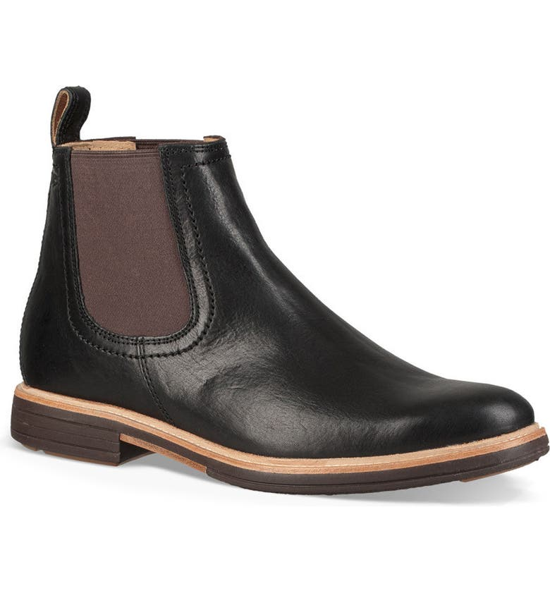 UGG<SUP>®</SUP> Baldvin Chelsea Boot, Main, color, 002