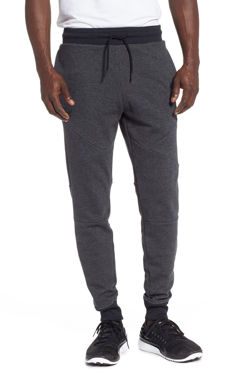 UNDER ARMOUR Unstoppable Double Knit Jogger Pants, Main, color, 001