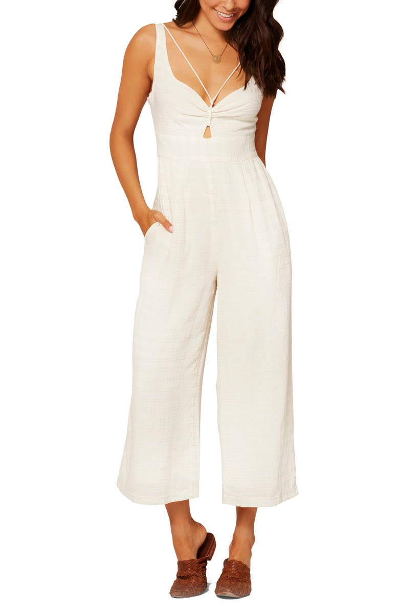 L SPACE Kenna Cover-Up Jumpsuit, Main, color, 900
