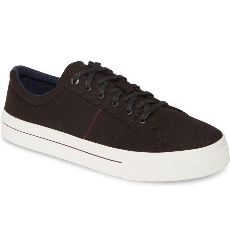 TED BAKER LONDON Eshron Sneaker, Main, color, BLACK TEXTILE