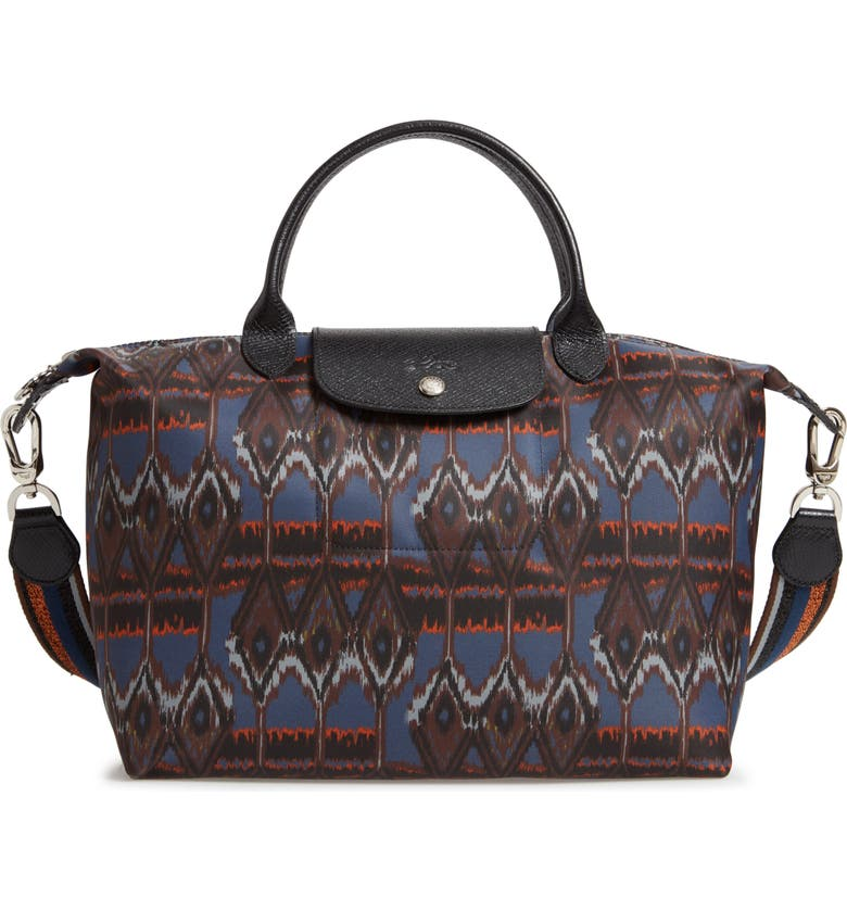 LONGCHAMP Le Pliage - Ikat Medium Tote, Main, color, 400